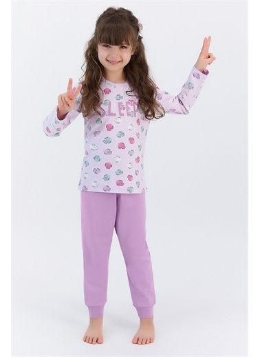 Roly Poly Pijama Takım Lila